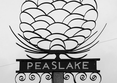 Peaslake Village Sign